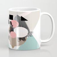 uk Mugs featuring Locals Only - London - UK by Natalie Nicklin
