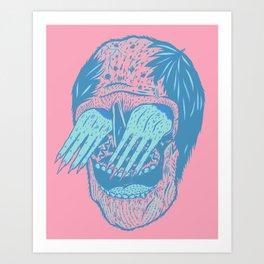 Hand/Eye Art Print