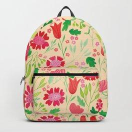 Gouache Floral no.2 | Original Palette Backpack