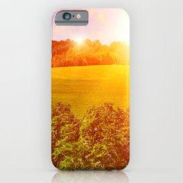 Cannabis Farm iPhone Case