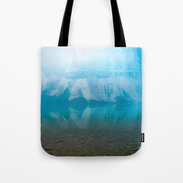 Misty Morning Canvas Tote Bag