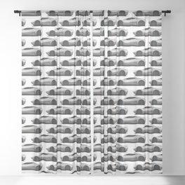 Exotic Modern Super Car Concept Sheer Curtain