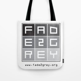fade 2 grey Tote Bag