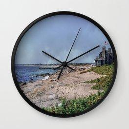 Watch Hill Beach Wall Clock