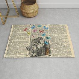 Alice In Wonderland - Let The Adventure Begin Rug