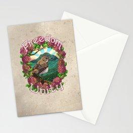 Freedom & Unity Stationery Cards