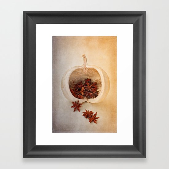 STAR ANISE Framed Art Print