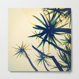 Palms on Palms Metal Print