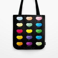 Every emotion beans Tote Bag
