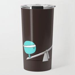 Acrobatic ice cream Travel Mug
