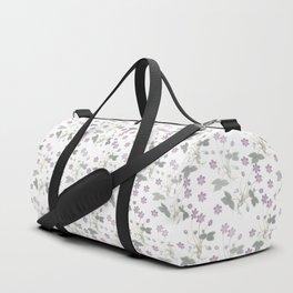 pink violets Duffle Bag