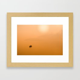 sunset light #society6 #decor #buyart Framed Art Print