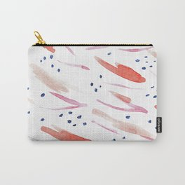 Blueberry Brush // Watercolor Pattern Carry-All Pouch