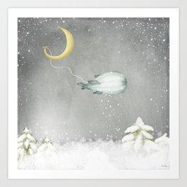 The Snow Maker Art Print