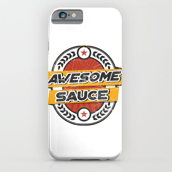 Awesomesauce iPhone & iPod Case