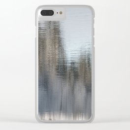 Cold Creek. Clear iPhone Case