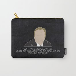 Being Human - William Herrick Carry-All Pouch