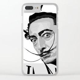 Dalí Clear iPhone Case