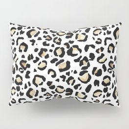Leopard Animal Print Watercolour Painting Pillow Sham