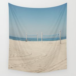 Hermosa Beach Volleyball Wall Tapestry
