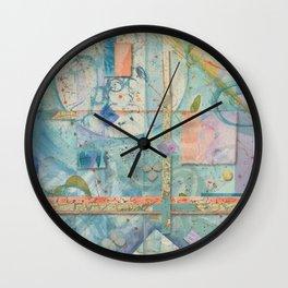 Crossroads and Quadrants Wall Clock