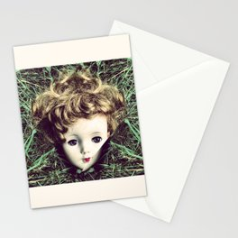 Doll remembering her dreams Stationery Cards