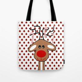 Reindeer Christmas - Merry Christmas Tote Bag
