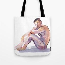 MAX, Semi-Nude Male by Frank-Joseph Tote Bag