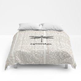 NEWSPAPER SASSENACH 2 Comforters