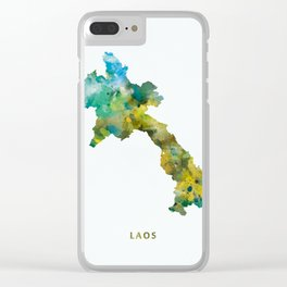 Laos Clear iPhone Case