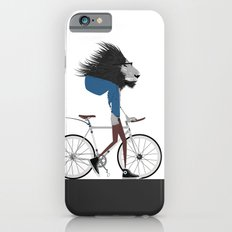 Hipster Lion and his Bicycle iPhone 6 Slim Case