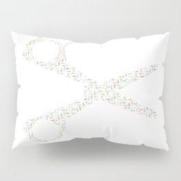 Scissor of Scissors Pillow Sham