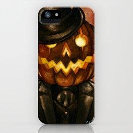 Dapper Jack iPhone Case