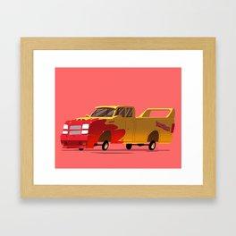 """wiggle your big toe"" Framed Art Print"