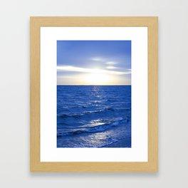 Heavenly Blues - Gagliano Photography Framed Art Print
