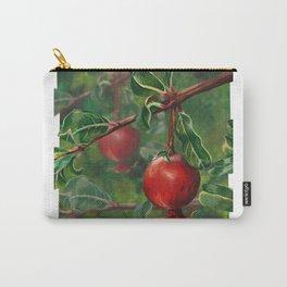Tudor Pomegranate Tree Carry-All Pouch