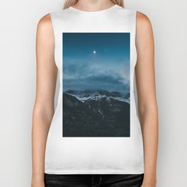 Moonshine - Landscape and Nature Photography Biker Tank