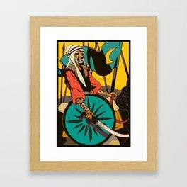 Persian Cheetah Framed Art Print