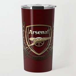 Arsenal Gold Design Travel Mug