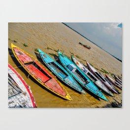 The Ganges River Canvas Print
