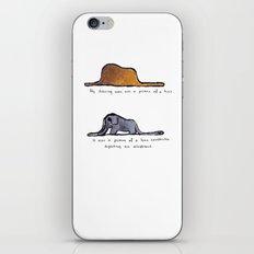Monoprinting Le Petit Prince iPhone & iPod Skin