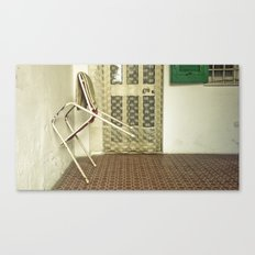 Lonely Chairs #5 Canvas Print