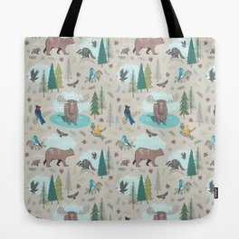 Wild Adventures Tote Bag