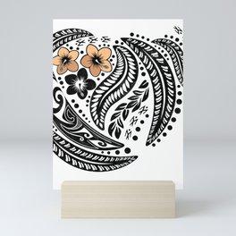 Polynesian Tribal Mini Art Print