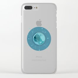 Planet F - Trappist System Clear iPhone Case