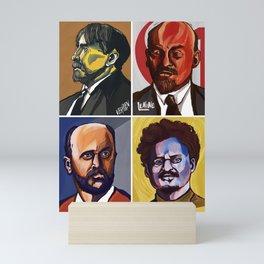 Verblen Lenine Gramsci Kautsky Mini Art Print