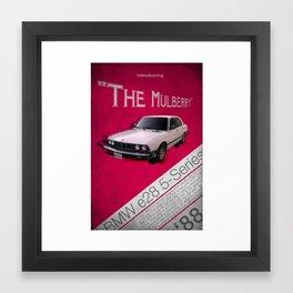 The Mulberry Framed Art Print
