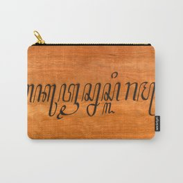 I Love You--in Javanese Carry-All Pouch