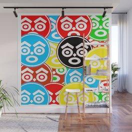 """ZULU NATION: MULTI-COLOR LOGO DUECE"" Wall Mural"