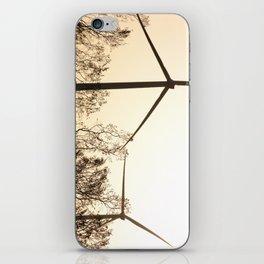 Sunrise with Wind Turbines  iPhone Skin